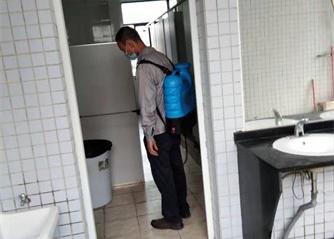 洗手间消毒灭菌