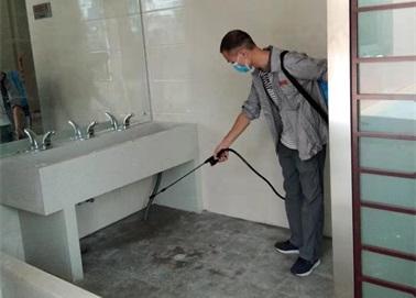 洗手间灭蚊蝇